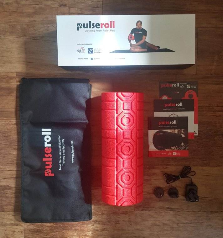 The Pulseroll Vibrating Foam Roller Plus