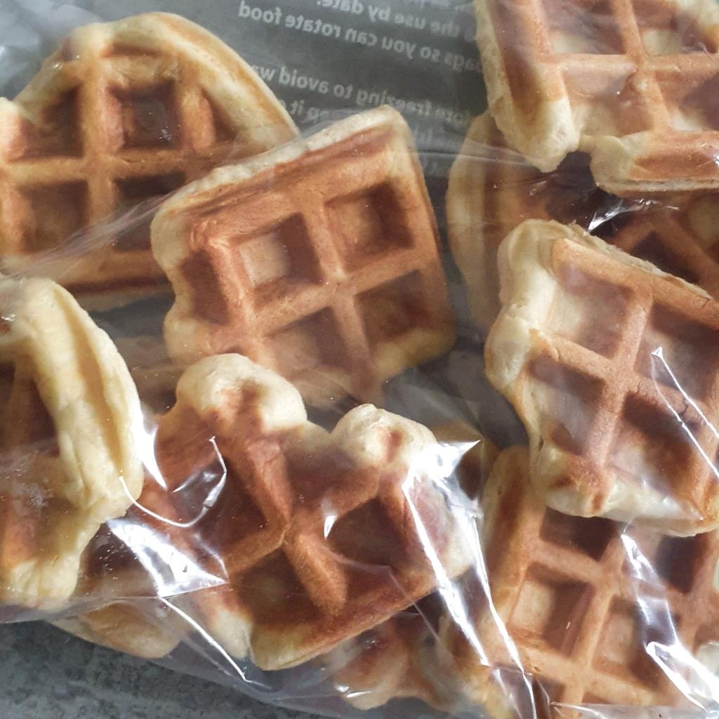 Homemade Liege Waffles