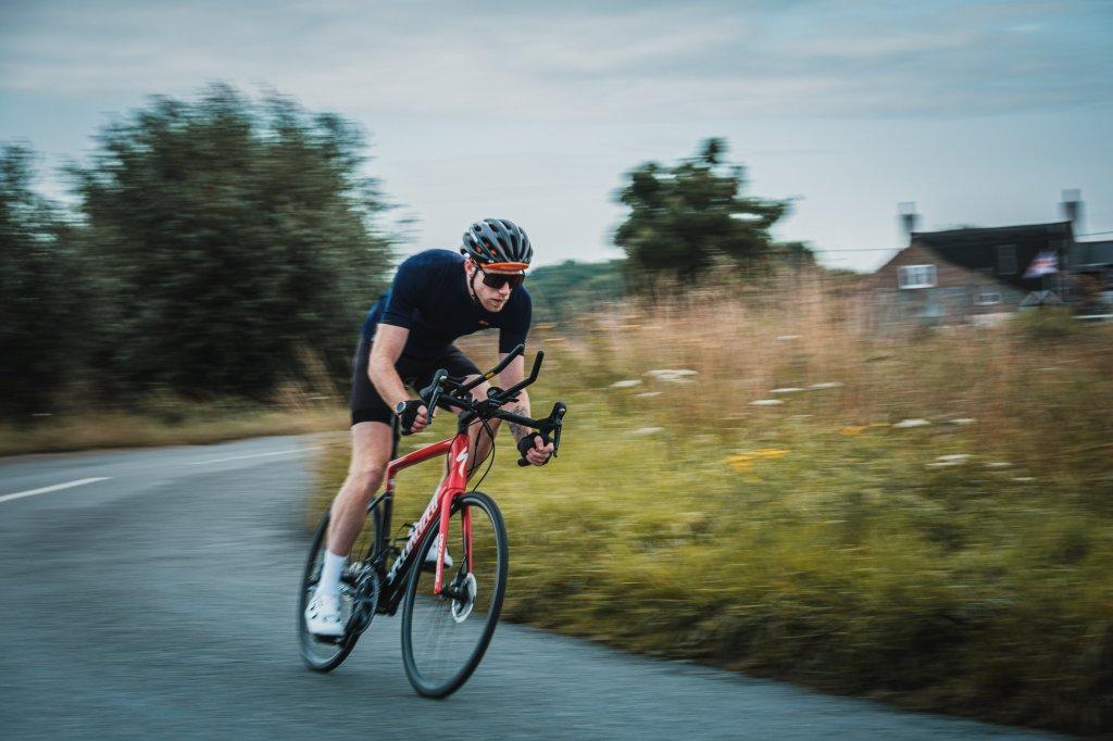 Guy Stapleford cyclist